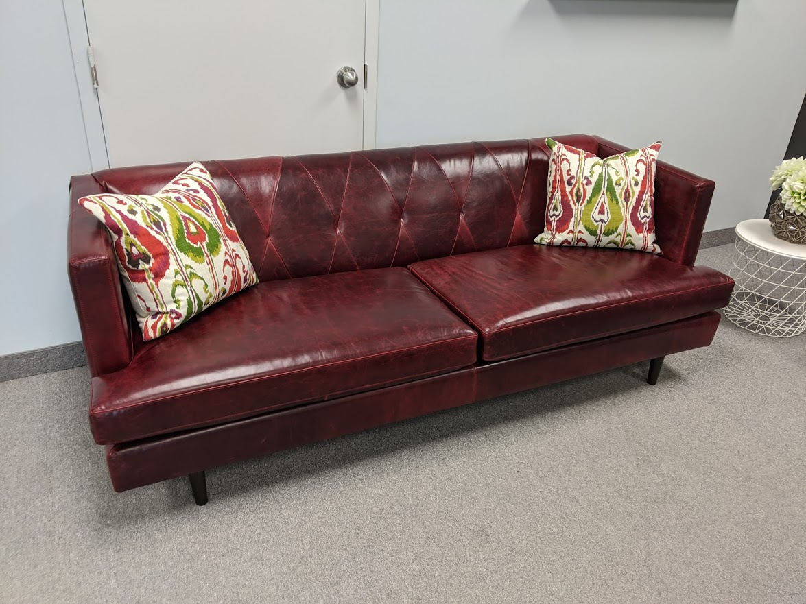 Old English Deep Red by Linea Designs Furniture Inc.